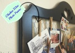 A great up-cycle project for old picture frames.