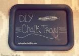 DIY Chalk Tray