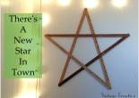 Five Minute Yard Stick Star Wall Art