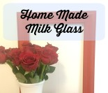 Home Made Milk Glass
