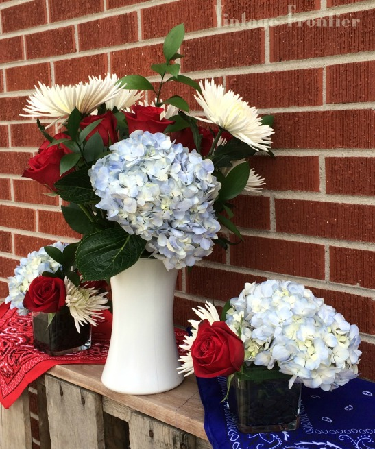 The perfect centerpieces for any Fourth of July celebration.