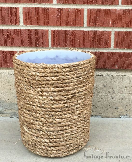 Five Minute Friday: Trash Can Makeover.