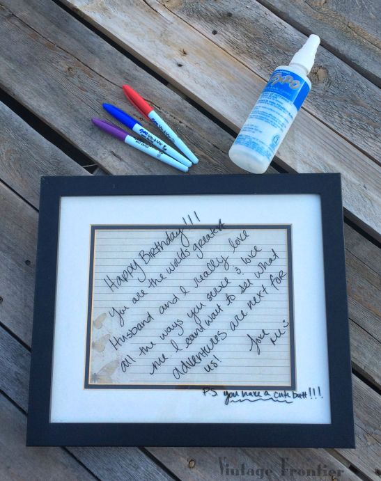 This quick five minute project result is a great way to encourage someone you love....or just keep your to-do list in check.