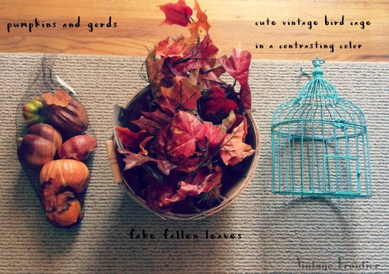 You don't need much to make your home feel like fall.