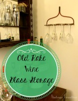 Quick and easy storage for your wine glasses...and so much more.
