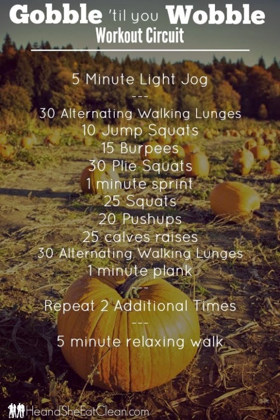 Thanksgiving Workout Roundup