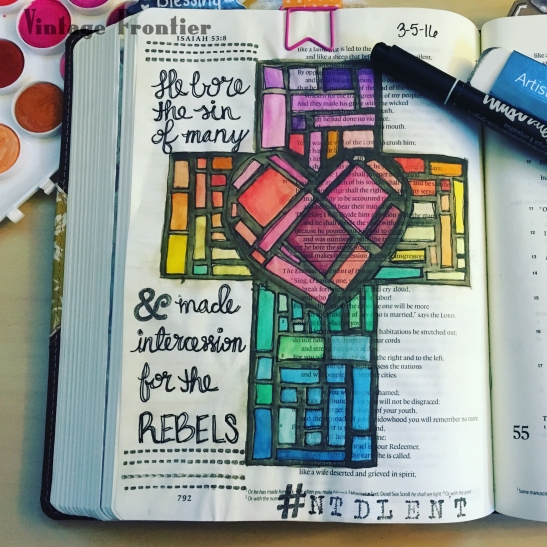 Bible Journaling #frontierfaith