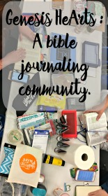 A Recap of our first Genesis HeArts Bible Journaling Community Meetup and how it got started.